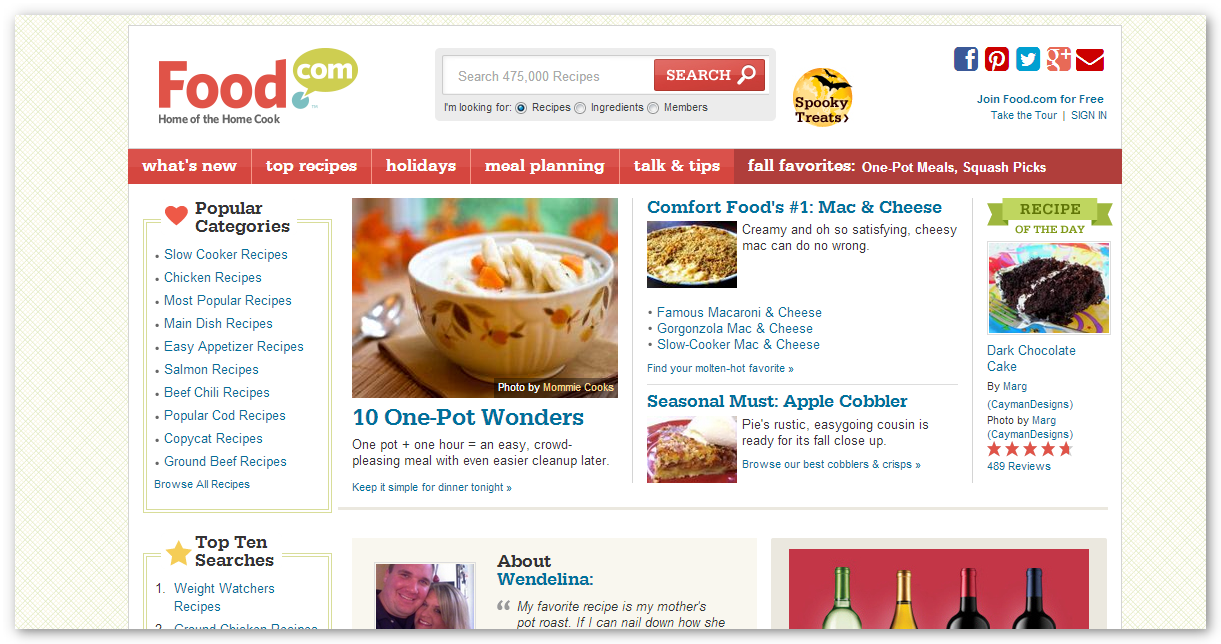 The best free recipe website free video download food top five best free recipe website 2 forumfinder Image collections