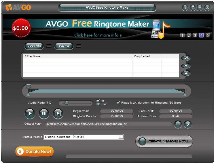 free-ringtone-maker-interface