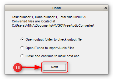 how-to-convert-audio-for-free-step-7