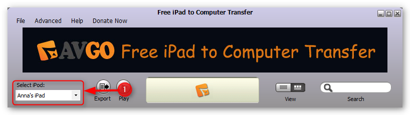 how-to-transfer-music-from-ipad-to-computer-step-1