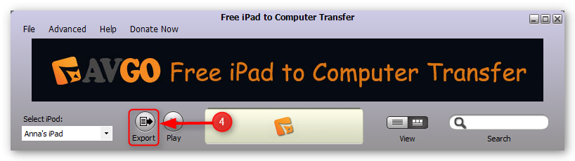 how-to-transfer-music-from-ipad-to-computer-step-4