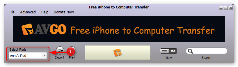 transfer-music-from-iphone-to-computer-step-1