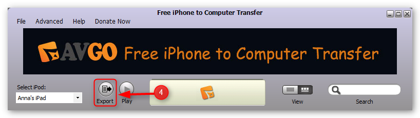 transfer-music-from-iphone-to-computer-step-4