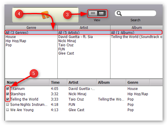 how-to-transfer-music-from-ipod-to-computer-step-2